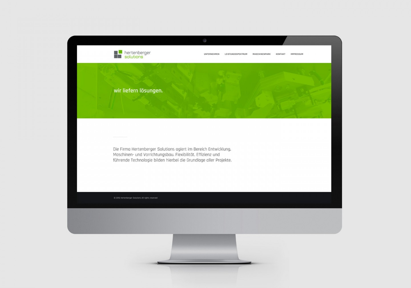 Hertenberger Solutions – Responsive Website