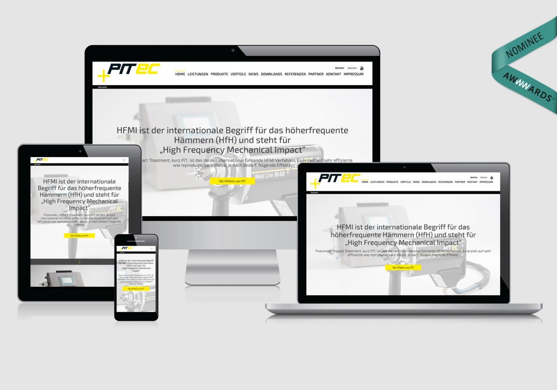 PITEC GmbH – Firmenwebsite