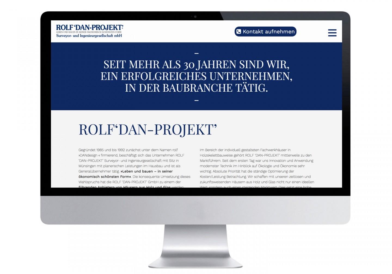 ROLF 'DAN-PROJEKT' – Responsive Website