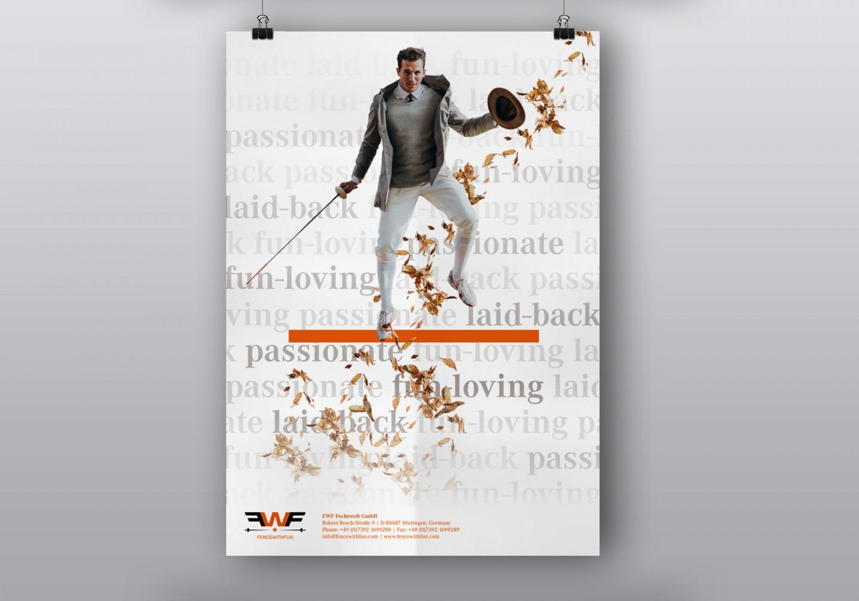 FWF Fechtwelt – Plakatgestaltung