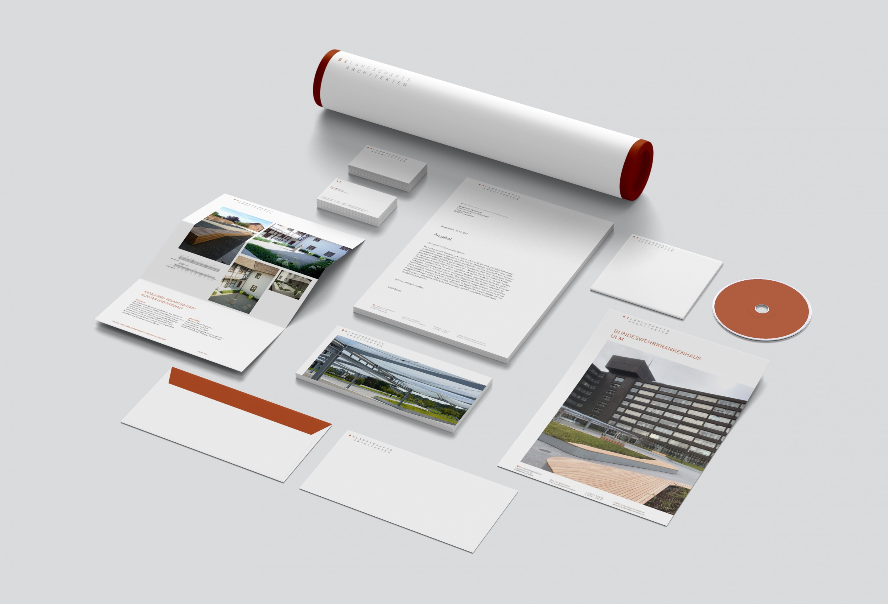 B2 Landschaftsarchitekten Corporate Design
